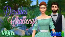 <The Sims 4>-<Decades Challenge>