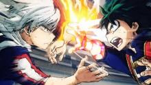 Watch as Izuku Midoriya vs. Shoto Todoroki, top hero candidates in the Academy fight each other to see who will be the number 1 hero candidate.