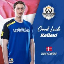 Denmark, Kellex's home country, supports him tremendously!