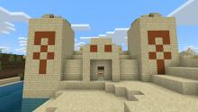 Explore a desert pyramid, but beware the hidden dangers inside! This treasure isn't so easily acquired.