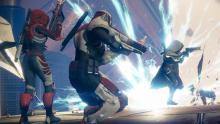 Epic combat between Guardians.
