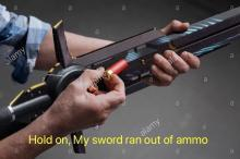 Why do we need ammo for swords?