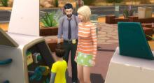 These Sims are being questioned as part of an ongoing investigation