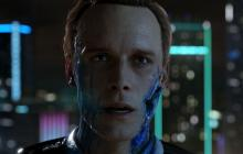 The very first deviant the player will see in Detroit: Become Human.