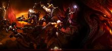 All playable classes in Diablo 3