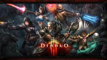 All of the playable classes in Diablo 3