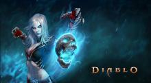 Diablo 3 playable class, the Necromancer.