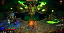 Many of the possible characters in Diablo 3 fight against Belial