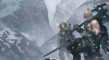 Artist rendering of Barbarian from Diablo 3