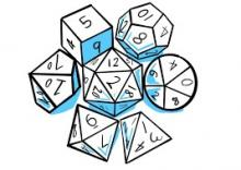 The dice never lie. They can giveth and certainly taketh away.