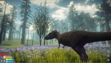 This simulation RPG lets you play as the dinosaur.