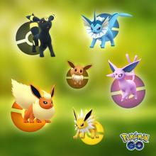Evolve your Pokemon to cover your weaknesses and strengthen your team.