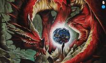 The Dungeons and Dragons books are known for their beautiful art to decorate the information