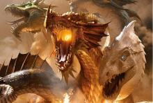 The dragon goddess of greed.