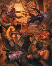 Letting your party rest in taverns can sometimes lead to more than they bargained for in D&D.