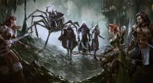 A party has met the dark elven race, the Drow deep in the Underdark
