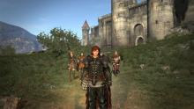 A screenshot showing high resolution graphics of Dragon's Dogma Dark Arisen