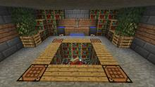 Check out this clean enchantment room!