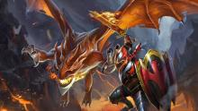 Dragon Knight may soak a lot of damage in a team fight.