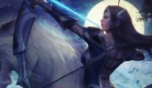 Would it be interesting if her arrow traveled all over the map?