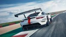 The actual Porsche 911 RSR.