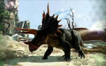 A Triceratops damage is so great, it can take down enemy structures
