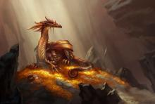 There isn't just gold in a dragon's hoard - often, many awesome magical items can be found in them as well.