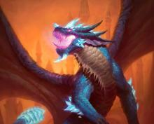 This dragon allows you to play 1 spell for free each turn