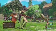 Dragon Quest XI combat is classic turn-based