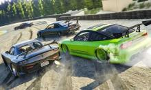 Drifting alone is fun on a course, but drifting in a group race is better