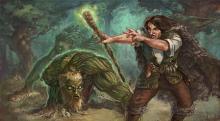 Fight as a Druid in D&D