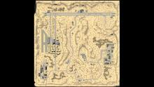 The whole map layout of one of the maps