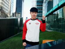 Huni was glad to be back home and playing for SKT T1