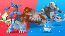 These Pokemon have two attribute types.