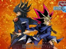 Promotional Art featuring Legendary duelists Yami Yugi and Yusei Fudo!