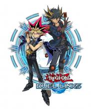 Yami Yugi and Yusei Fudo appear on this promotional art for 5Ds being announced for Duel Links!