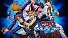 Artwork showcasing legendary duelists Joey Wheeler, Yami Yugi, and Seto Kaiba!