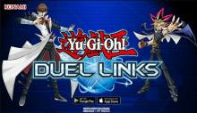 Promotional artwork of the US release of Duel Links!