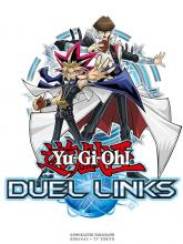 Yami Yugi and Seto Kaiba appear on this promotional art for Duel Links!