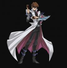 The in-game character model of Seto Kaiba.