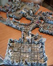 A 3D dungeon for minis to explore.