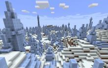 Minecraft-ice-spikes-biome