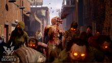 The beginning of a game starts off better with an exploding zombie head.