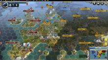 England and Russia battle for control over Europe!