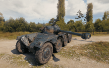 Look at that amazing body on the Panhard EBR 90!