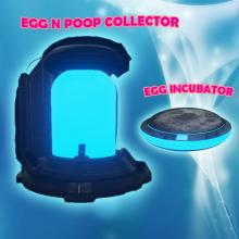 The Egg n Poop Collector mod is useful for automatically picking up poop and eggs in your base so you can get out and explore or raid.