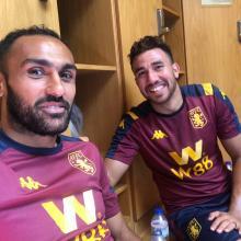 Ahmed Elmohamedy and Mohamed Trezeguet link up brilliantly for Aston Villa and Egypt.