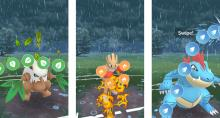 In player vs player battles you need to constantly tap, swipe, and defend!