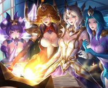 Elementalist Lux and friends!