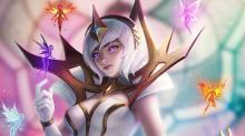 Elementalist Lux with her different element pixies.